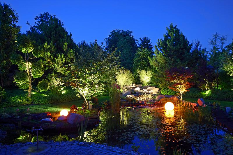 licht im garten - hau-landschaftsbau, Garten Ideen
