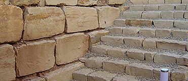 Leistung - Mauern und Treppen
